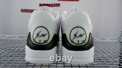 NEW Nike Air Jordan 3 Retro SP x Fragment Design DA3595 100 Size 13 White Brown