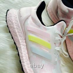 NIB Rare Adidas Womens UltraBoost Running Course A Pied Cloud Pink Size 9