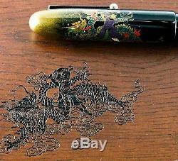 Namiki Emperor Double Dragon Limited Edition Maki-e Fountain Pen 157/200