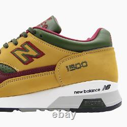 New Balance 1500 Tan Leather Mens Trainers Sneakers UK 8.5 M1500TGB BNIB England