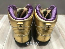 New Men's Nike SB X Humidity Dunk High Metallic Gold Trumpet AV4168-776 Size 6.5