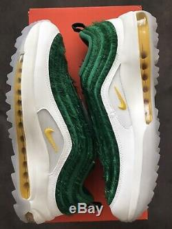New Never Worn Nike Air Max 97 G NRG Grass Golf Shoes Size 11