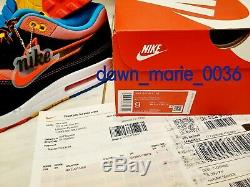 Nike AIR MAX 1 CHINATOWN NYC 2020 Sz 9 CNY Chinese New Year CU6645-001 AUTHENTIC