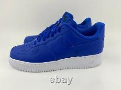 Nike Air Force 1 Blue White Women's Size 8.5 Sneakers Shoes Nike By You ID