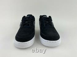 Nike Air Force 1 LV8 Black Suede Women's Size 6.5 Sneakers White Gray AO3620 001