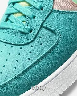 Nike Air Force 1 One Low ORACLE AQUA GREEN BLUE WHITE BLACK OG ALL CK4383-300