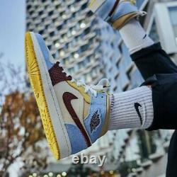 Nike Air Jordan 1 Mid SE Fearless Maison Chateau Rouge Mens Size 16 CU2803-200