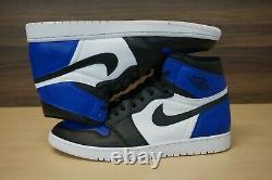Nike Air Jordan 1 Retro High OG Fragment / Game Royal Toe CUSTOM Men's Size 13