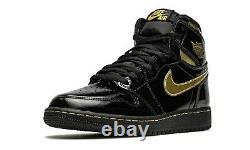 Nike Air Jordan 1 Retro High OG GS Metallic Black Gold 575441-032 SZ 3.5Y to 7Y