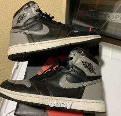 Nike Air Jordan 1 Retro High OG'Shadow' (555088 013) 2018 Size 8.5 Black Grey