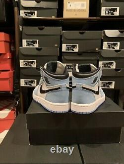 Nike Air Jordan 1 Retro High OG University Blue Black AQ2664-134 Size 4C TD