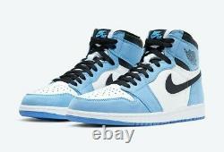 Nike Air Jordan 1 Retro High OG University Blue Men Size 9 Order Confirmed