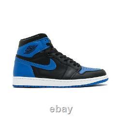 Nike Air Jordan 1 Retro OG High Royal 2017 Blue 555088-007 Toe Men's US Size 9