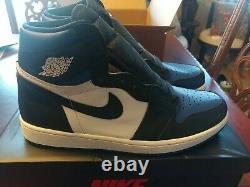 Nike Air Jordan 1 Royal Toe Retro High OG Game Royal Blue 555088-041 size 13