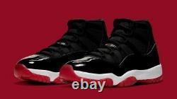 Nike Air Jordan 11 Retro Men's Shoes Black/Red/White, 9 US
