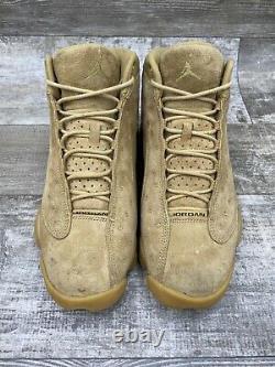 Nike Air Jordan 13 XIII Retro Wheat Flax Tan Brown Haystack 414571-705 Size 9.5