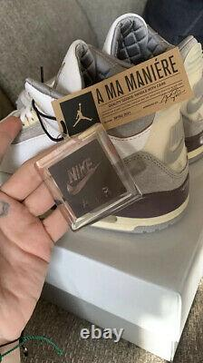 Nike Air Jordan 3 Retro A Ma Maniere Size 12With Mens Size 10.5 IN HAND