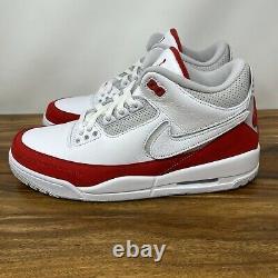Nike Air Jordan 3 Retro Tinker SP White University Red CJ0939-100 Men's Size 11