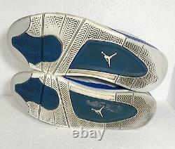 Nike Air Jordan 4 IV Retro White Military Blue Grey 2012 OG 308497-105 Size 13