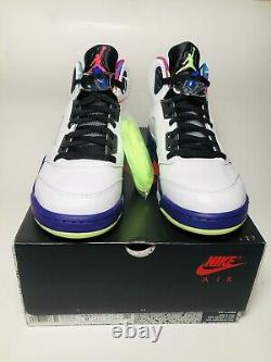 Nike Air Jordan 5 Bel Air Retro White Gost Size 8.5 NEW Multicolor DB3335-100