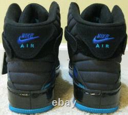 Nike Air Jordan 8 Retro Air Force 1 AJF Fusion Shoes Black Aqua Purple 7 Men 10