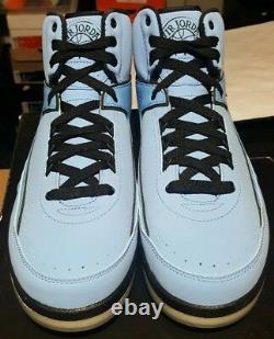 Nike Air Jordan II 2 Retro QF Candy Pack Shoes 2010 University Blue Black Men 10