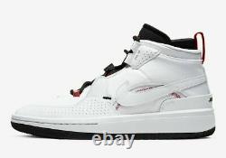 Nike Air Jordan Meta Morph Utility Sneakers White Black BV5936-100 Size 12