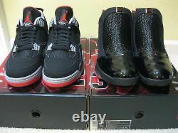 Nike Air Jordan Retro Shoes Black Cement Bred 4 IV 19 CDP Countdown Pack Men 10