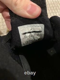 Nike Air Jordan Retro XIV 14 Thunder Black 487471-070 Sz 9.5