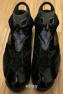 Nike Air Jordan VI 6 Retro Pistons Black/Varsity Red-Blue-Graphite Size 11.5