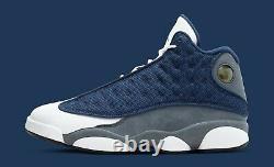 Nike Air Jordan XIII 13 Flint size 10. Grey Retro Navy White Gray 414571-404