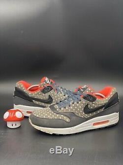 Nike Air Max 1 Prm Polka Dots Infrared Black Sz 11