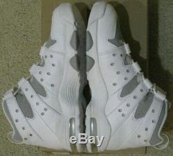 Nike Air Max 2 CB 94 Charles Barkley Retro 2009 White Silver Gray Jordan Men 10