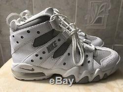 Nike Air Max 2 CB 94 Charles Barkley Retro 2009 White Silver Gray Size 10