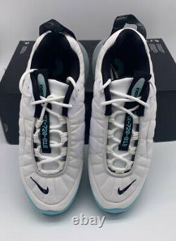 Nike Air Max 720-818 Womens Size White Aqua Running Shoes CK2607-001 Teal Blue
