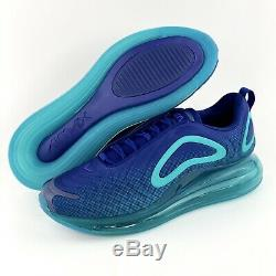 Nike Air Max 720 Nightshade Men's Shoes Sneakers Blue Void Teal AO2924 405