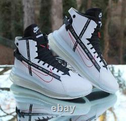 Nike Air Max 720 Saturn Mens Size 11.5 White Black University Red AO2110-100