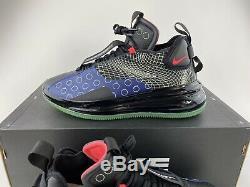 Nike Air Max 720 Waves Men's Shoes Sneakers D/MS/X Black Blue Red BQ4430 400
