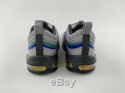 Nike Air Max 97 Nintendo 64 Men's Sneakers Shoes Grey Green Blue CI5012-001