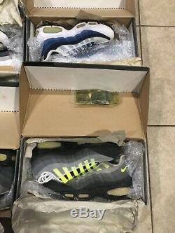 Nike Air Max Original Lot 95 98 99 4 5 6 7 8 9 10 Size Vintage Beater Box Profit