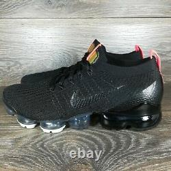 Nike Air VaporMax Flyknit 3'Black Snakeskin' Men's Running Shoes (AJ6900-023)