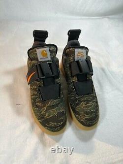 Nike Carhartt WIP x Air Force 1 Utility Low Premium'Camo' size M 11.5 W 13