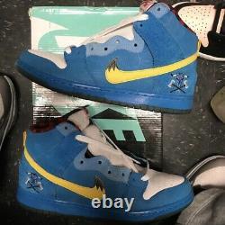 Nike Dunk High Premium SB'Familia' Blue Ox Size 8 313171 471 Preowned