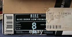 Nike Dunk Low Premium SB Supreme Size 8