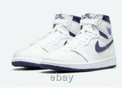 Nike Jordan 1 Retro High Court Purple CD0461-151 Size 5W / 3.5M SHIPS FAST