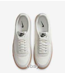 Nike Killshot 2 Leather Mens Sail Gum Yellow Black 432997-128 Sz 10 FREE SHIP
