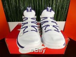 Nike Kobe AD Exodus TB White Purple Mens Shoes Mamba AT3874-111 Size 10