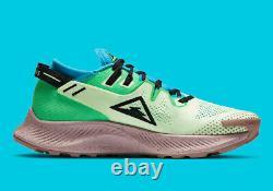 Nike Pegasus Trail 2 Hiking Trail ACG Shoes Green Blue Gym CK4305-700 Size 10