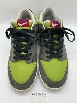 Nike SB Dunk Low Pro Kermit Frog Muppets 2005 624044 003 Green Size 8 + Receipt