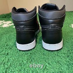 Nike Sneakers Black Red Air Jordan 1 Retro High OG Black Satin Mens Size 9.5